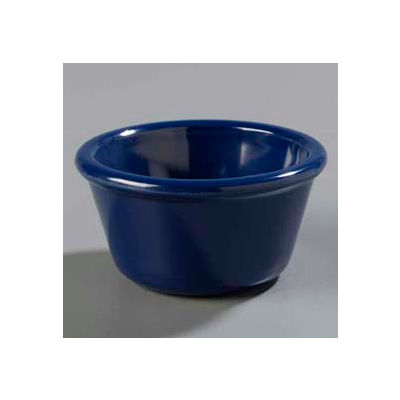 Carlisle S28560 - Smooth Ramekin 4 Oz., Cobalt Blue - Pkg Qty 48