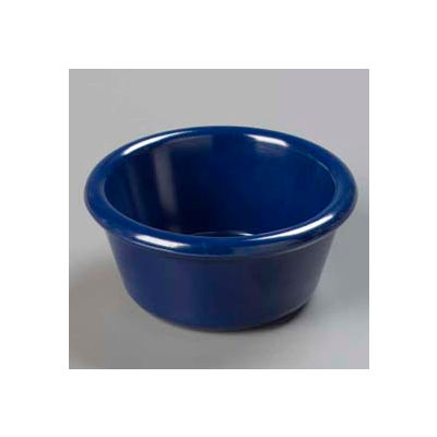 Carlisle S28660 - Smooth Ramekin 6 Oz., Cobalt Blue - Pkg Qty 48
