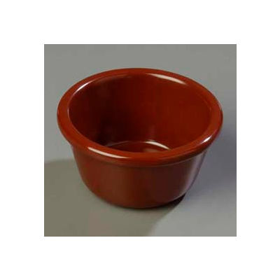 Carlisle S28669 - Smooth Ramekin 6 Oz., Chocolate - Pkg Qty 48