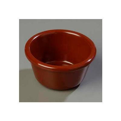 Carlisle S28669 - Smooth Ramekin 6 Oz., Chocolate - Pkg Qty 48