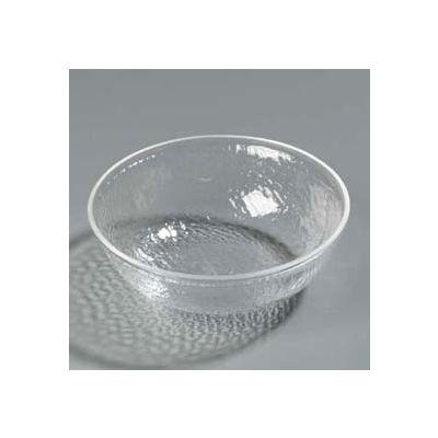 Carlisle SB6807 - Pebbled Bowl 1 Qt., Clear - Pkg Qty 4
