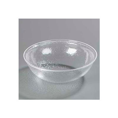 Carlisle SB7407 - Pebbled Bowl 7 Qt., Clear - Pkg Qty 4