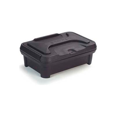 "Carlisle XT140003 - Cateraide Slide 'N Seal™ Pan Carrier, 4"" Top Loader, Insulated, Black"