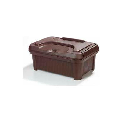 "Carlisle XT160001 - Cateraide Slide 'N Seal™ Pan Carrier, 6"" Top Loader, Insulated, Brown"