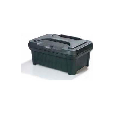 "Carlisle XT160008 - Cateraide Slide 'N Seal Pan Carrier, 6"" Top Loader, Insulated, Forest Green"