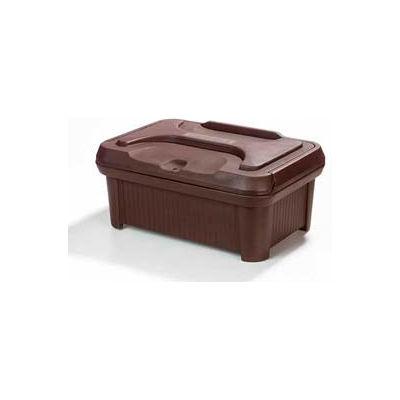 "Carlisle XT180001 - Cateraide Slide 'N Seal™ Pan Carrier, 8"" Top Loader, Insulated, Brown"