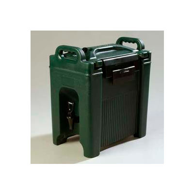 Carlisle XT250008 - Cateraid Beverage Server, 2-1/2 Gallon, Insulated, Wide Sure-Latch Forest Green