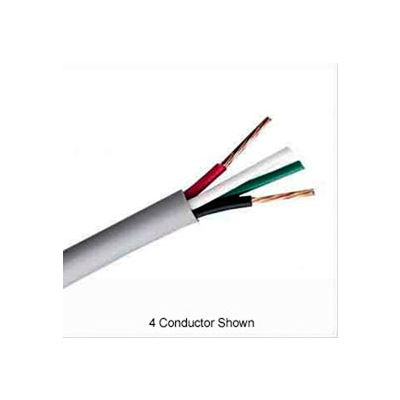 Convergent 725210WH1B 22AWG 6C Stranded Shielded Control Cable Plenum (CMP) 1,000 Ft. Box White