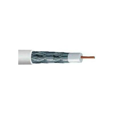 Convergent Connectivity Technology P5218WH1S RG6/U 18AWG Cuss Quad Shield CMP 1,000 Ft. Spool White