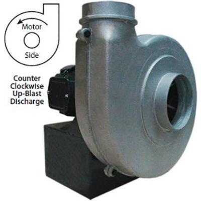 Americraft Aluminum Blower, HADP9-1-T-TE-CCWUB, 1 HP, 3 PH, TEFC, CCW, Upblast
