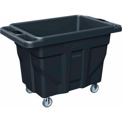 Cortech USA, CC116, Garbage/Laundry Cart, Black, Repro