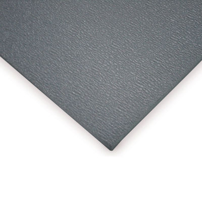 "Wearwell® Soft Step Anti Fatigue Mat 3/8"" Thick 2' x 3' Gray"