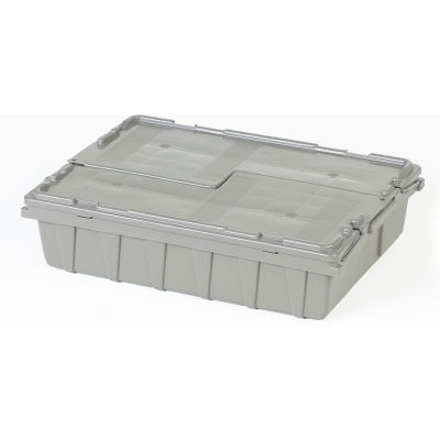 ORBIS Flipak® Distribution Container FP07 - 21-5/8 x 15-1/8 x 5-1/2 Gray