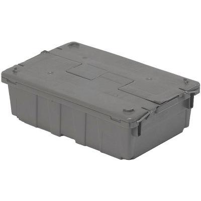 ORBIS Flipak® Distribution Container FP08 - 20-3/5 x 13-1/2 x 6-1/2 Gray