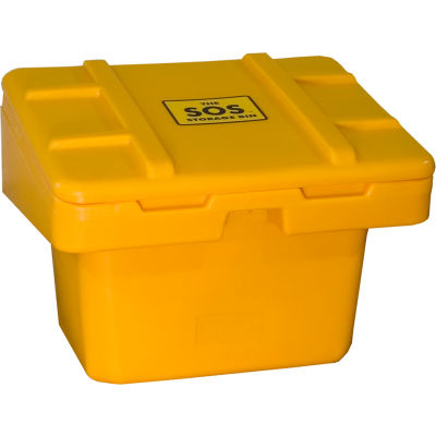 "Global Industrial™ SOS Outdoor Storage Container 30"" x 24"" x 23"" - 5.5 Cu. Ft. - Yellow"