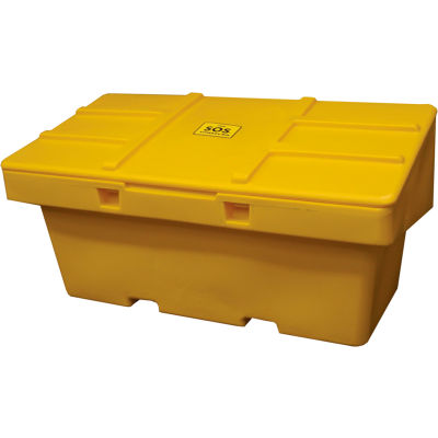 "Global Industrial™ SOS Outdoor Storage Container 72"" x 36"" x 36"" - 36 Cu. Ft. Yellow"