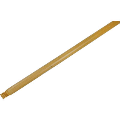 Rubbermaid® Replacement Handle 6361 For Push Brooms - Wood Threaded Handle