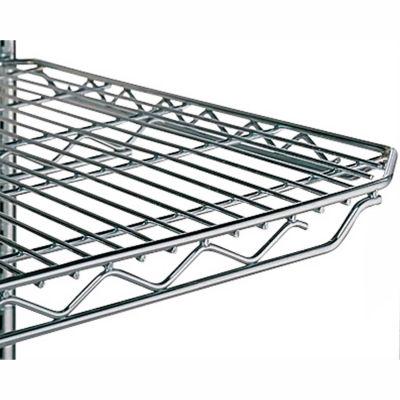 "Metro Qwikslot Extra Shelf For Wire Shelf Trucks - 36""Wx24""D - Fits Truck 4728600, 4736800"