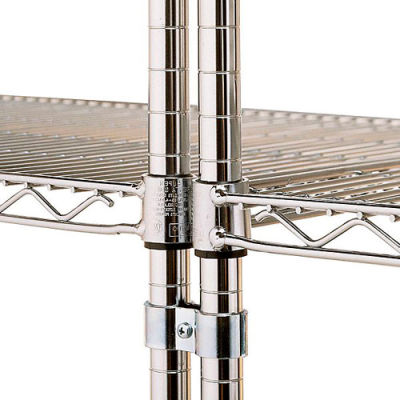 Metro Post Clamps For Open-Wire Shelving