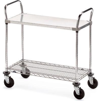 """Metro Galvanized/Wire Carts - 36""""W x 18""""D Shelf"""