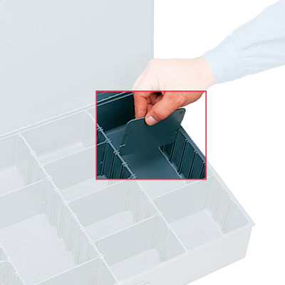 Durham Dividers 120-95 For Compartment Boxes - Fits Box 119-95, Price for pack of 9