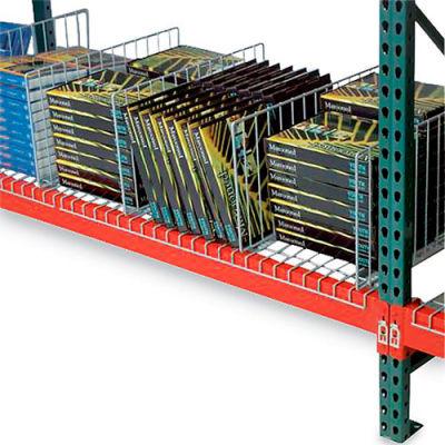 "Global Industrial™ Kwik Klip Wire Decking Divider - 42""D x 10""H"