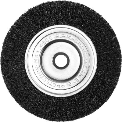 "Century Drill 76841 Bench Grinder Wire Wheels 4"" Dia. Steel Crimped"