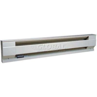 "Cadet® Electric Baseboard Heater 8F2500W 240/208V 2500 Watts 96""L White"