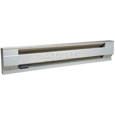 "Cadet® Electric Baseboard Heater 6F1500W 240/208V 1500 Watts 72""L White"