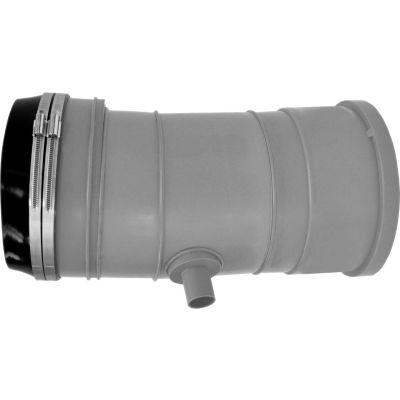 "InnoFlue® Appliance Adaptor W/Condensate Drain & Vibration Isolation Boot ISAACD0910, 9"""