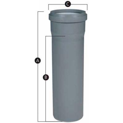 "InnoFlue® Vent Length ISVL066, 6"""