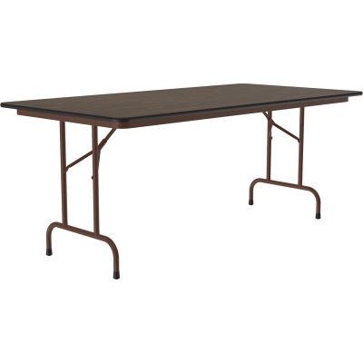 """Correll Folding Table - Laminate - 36"""" X 96"""" - Walnut"""