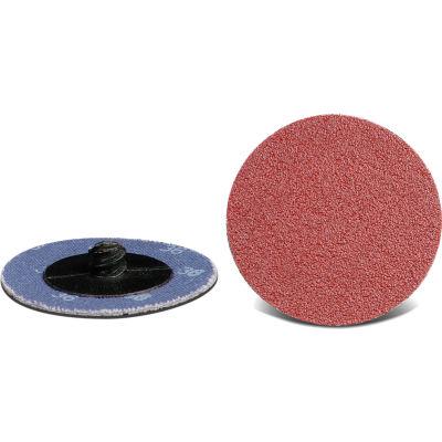 """CGW Abrasives 59540 Quick Change Disc 3"""" TR 60 Grit Aluminum Oxide - Pkg Qty 25"""