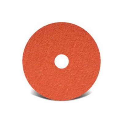"CGW Abrasives 59810 Premium Resin Fibre Discs 5"" x 7/8"" 36 Grit Ceramic - Pkg Qty 25"