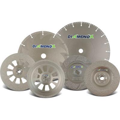 """CGW Abrasives 70411 Notching Grinding Wheel 4"""" x 0.14"""" x 5/8"""" Type 1 36 Grit Diamond"""