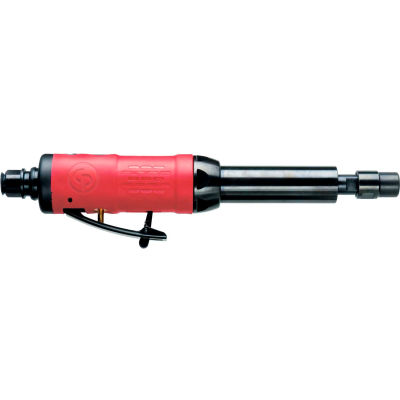"""Chicago Pneumatic Compact In-Line Extended Die Grinder, 1/4"""" Air Inlet, 27000 RPM, .32 HP"""