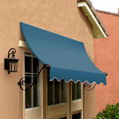 Awntech CH33-8DB, Window/Entry Awning 8-3/8'W x 3-11/16'H x 3'D Dusty Blue