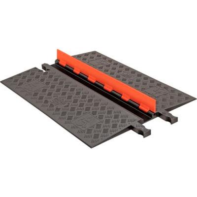 Guard Dog® Low Profile, 1 CH - Orange Lid/Black Base - ADA Ramps