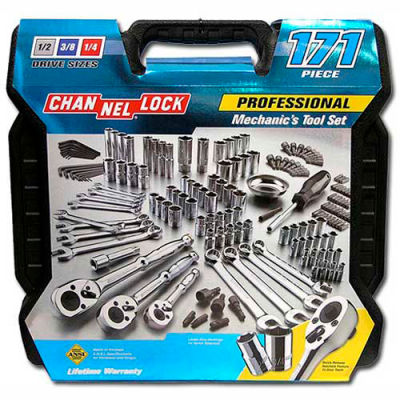 Channellock® 39053 171 Piece Mechanic's Tool Set