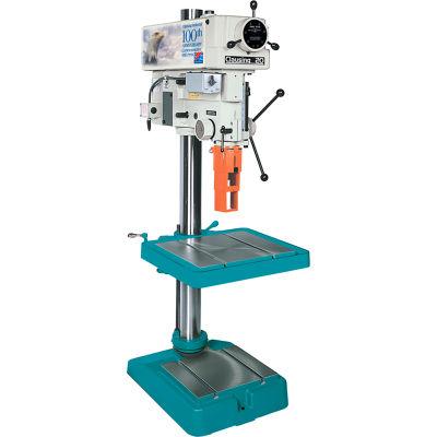 """Clausing Atlas 2277 20"""" Floor Drill 150-2000 RPM Vari-2 SPD 3PH 460V"""