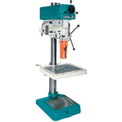 """Clausing Atlas 2282 20"""" Drill - 300-2000 RPM Vari-SPD - 1PH - 220V - Head Only"""