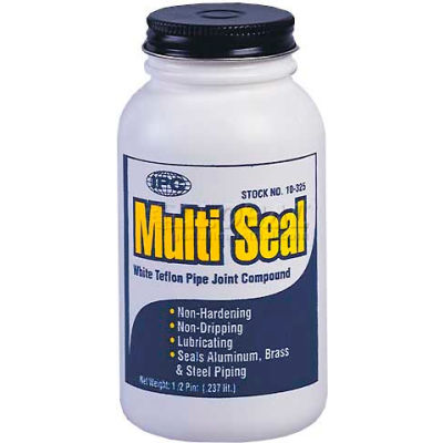 Multi Seal™ Pipe Joint Sealant-PTFE, 1/2 Pt. - Pkg Qty 24