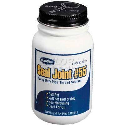 Seal Joint#155™Pipe Thread Sealant, Tan-Heavy Duty, 1/2 Pt. - Pkg Qty 24