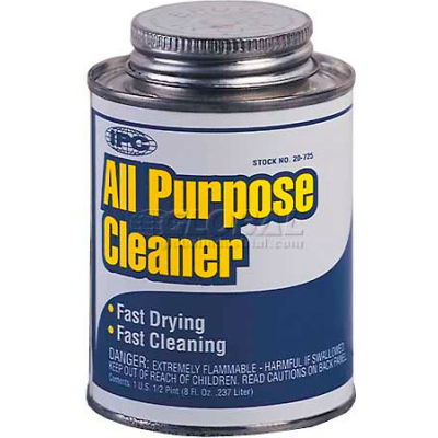 All Purpose Cleaner/Solvent™ For Pvc, Abs & Cpvc, 1 Pt. - Pkg Qty 12