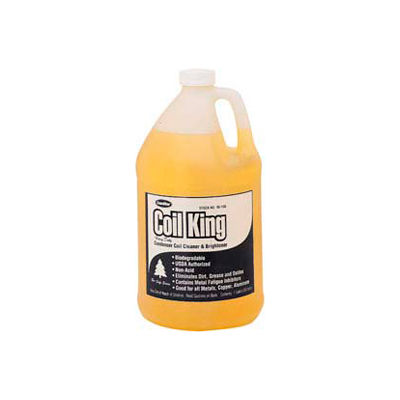 Coil King™ External Condenser Coil Cleaner And Brightener 1 Gallon