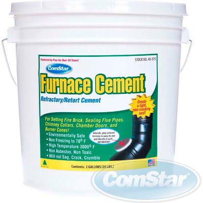 Furnace Cement™ Refractory / Retort Cement, 2 Gal.