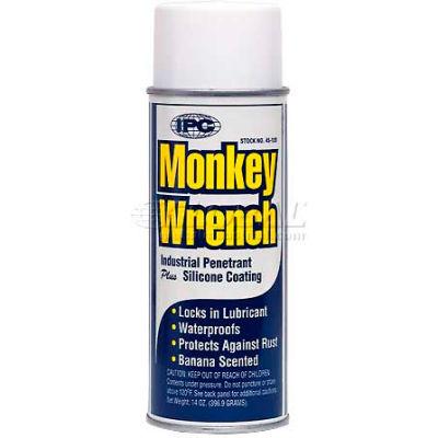 Monkey Wrench™ Oil-Penetrant Industrial Nut Buster, 14 Oz. Aerosol - Pkg Qty 12