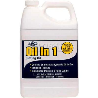 Oil-In-One™ Cutting Oil, 1 Gal., Clear - Pkg Qty 6