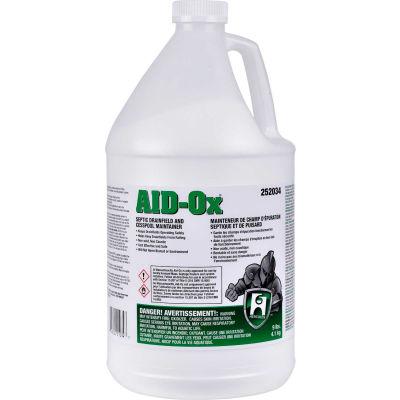 Hercules AID-Ox® Septic Drainfield & Cesspool Maintainer, 9 lb. Bottle, 4 Bottles - 252034 - Pkg Qty 4