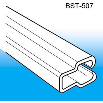 """Boot System™ Thin Poster Channel, 12""""L, Clear - Pkg Qty 500"""